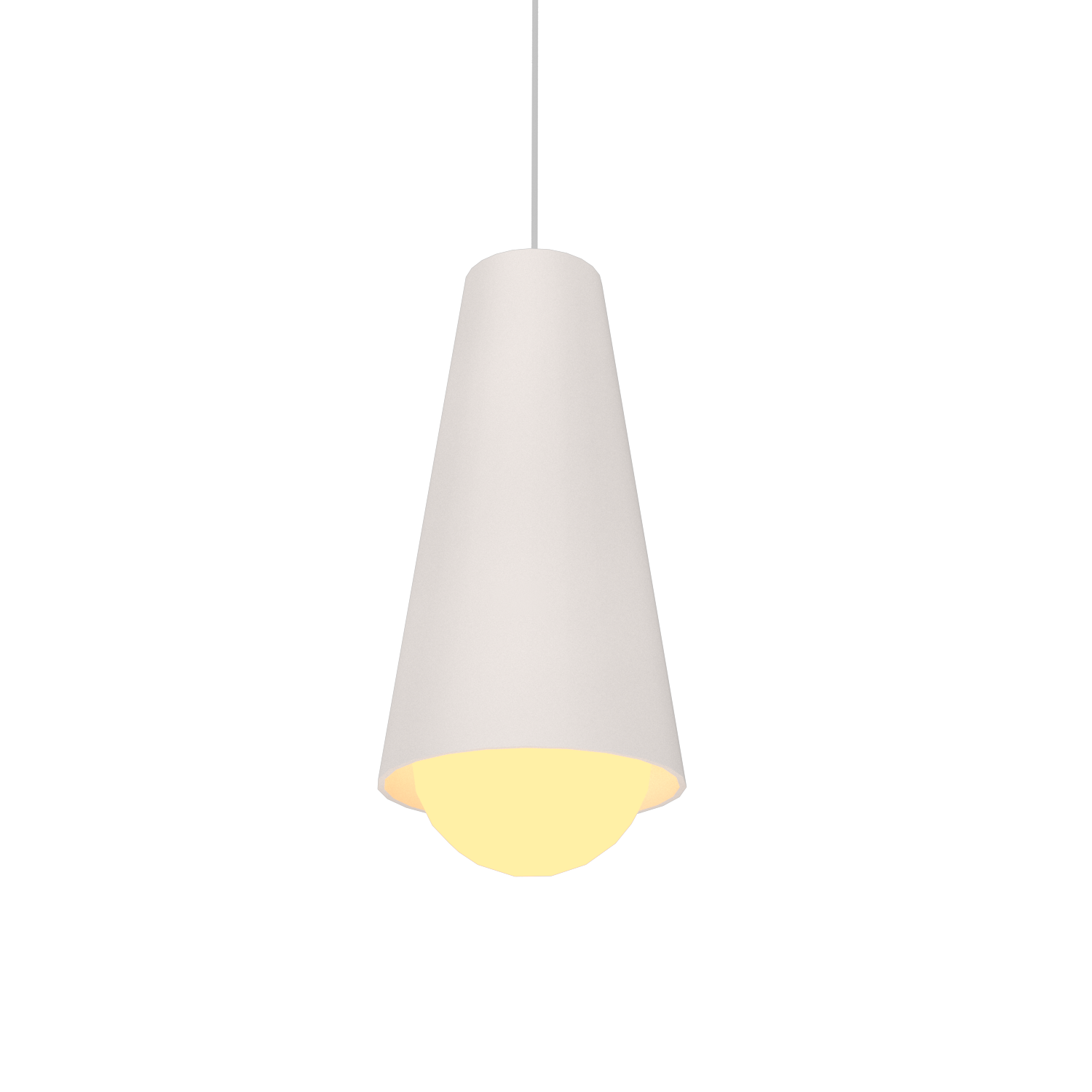 Pendant Lamp Accord Cônico 1250 - Cônica Line Accord Lighting | 25. Iredescent White