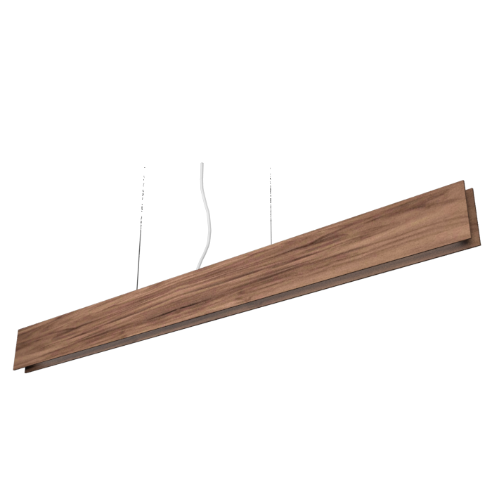 Pendant Lamp Accord Clean 1311 LED - Clean Line Accord Lighting | 18. American Walnut