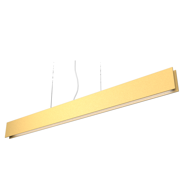 Pendant Lamp Accord Clean 1311 LED - Clean Line Accord Lighting | Pale Gold
