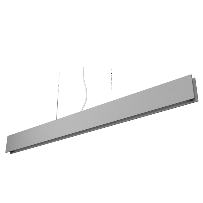 Pendant Lamp Accord Clean 1311 LED - Clean Line Accord Lighting | Lead Grey