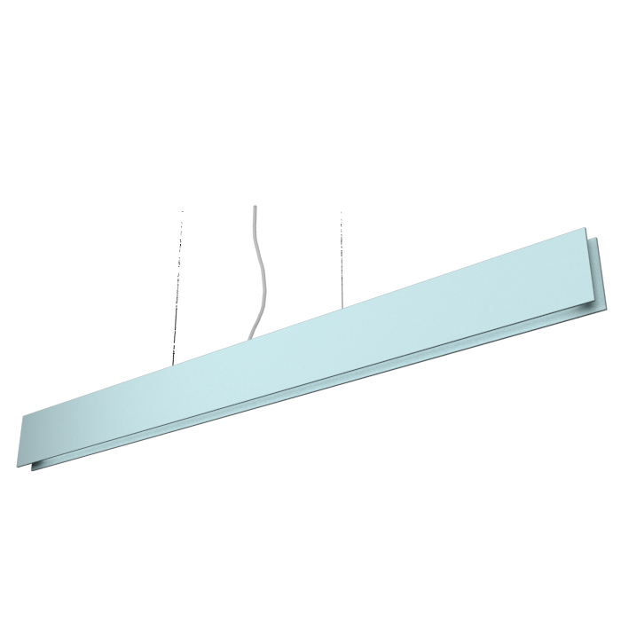 Pendant Lamp Accord Clean 1311 LED - Clean Line Accord Lighting | Satin Blue