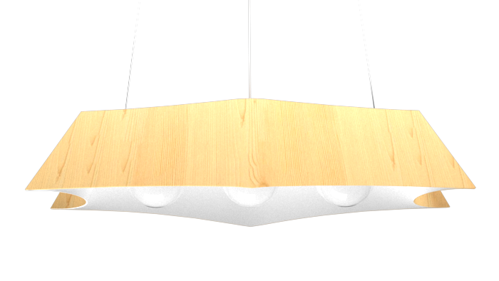 Pendant Lamp Arraia 1305 - OrgânicaLine Accord Lighting | 01. Pine