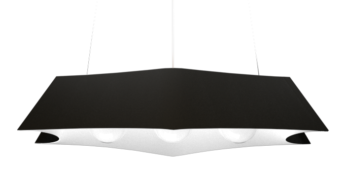 Pendant Lamp Arraia 1305 - OrgânicaLine Accord Lighting | 02. Matte Black