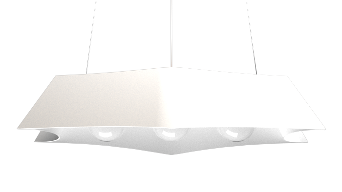Pendant Lamp Arraia 1305 - OrgânicaLine Accord Lighting | 07. White