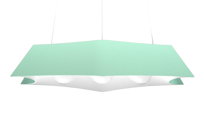 Pendant Lamp Arraia 1305 - OrgânicaLine Accord Lighting | 13. Bluish Green