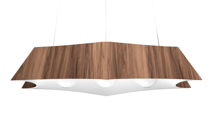 Pendant Lamp Arraia 1305 - OrgânicaLine Accord Lighting | 18. American Walnut