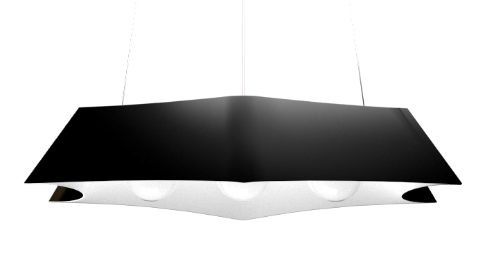 Pendant Lamp Arraia 1305 - OrgânicaLine Accord Lighting | 22. Glossy Black