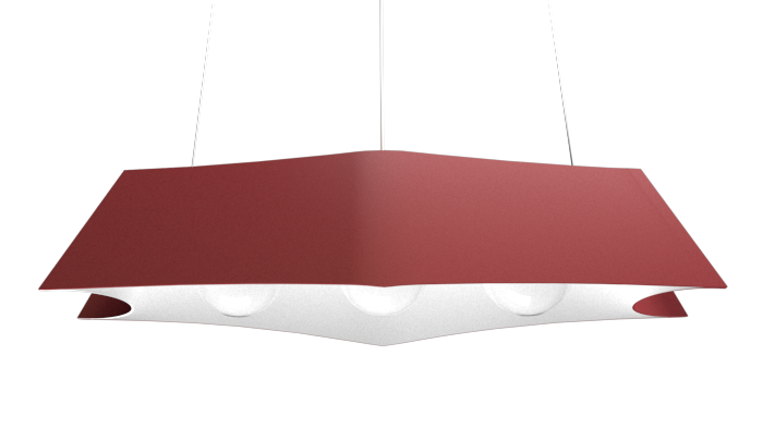 Pendant Lamp Arraia 1305 - OrgânicaLine Accord Lighting | 24. Marsala