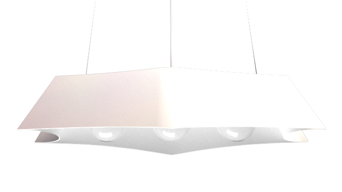 Pendant Lamp Arraia 1305 - OrgânicaLine Accord Lighting | 25. Iredescent White