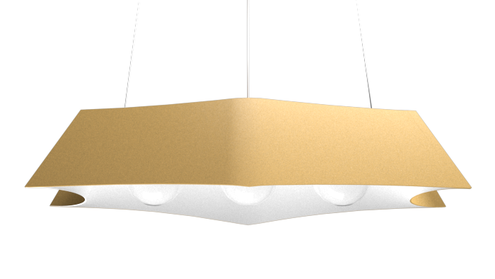 Pendant Lamp Arraia 1305 - OrgânicaLine Accord Lighting | 27. Gold
