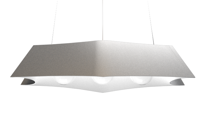 Pendant Lamp Arraia 1305 - OrgânicaLine Accord Lighting | 28. Silver