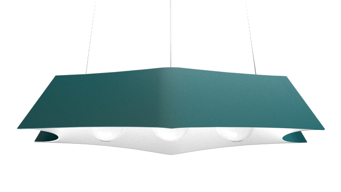 Pendant Lamp Arraia 1305 - OrgânicaLine Accord Lighting | 29. Teal