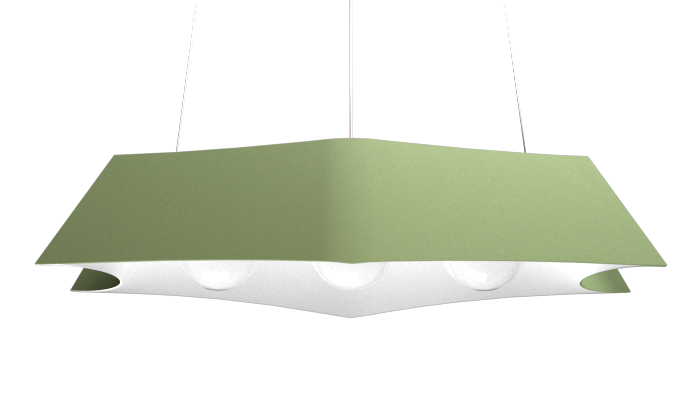 Pendant Lamp Arraia 1305 - OrgânicaLine Accord Lighting | 30. Olive Green