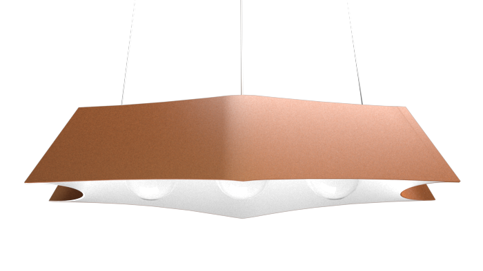 Pendant Lamp Arraia 1305 - OrgânicaLine Accord Lighting | 32. Copper