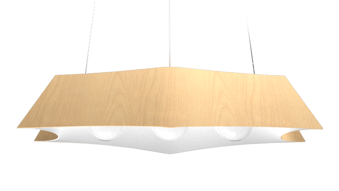 Pendant Lamp Arraia 1305 - OrgânicaLine Accord Lighting | 34. Maple