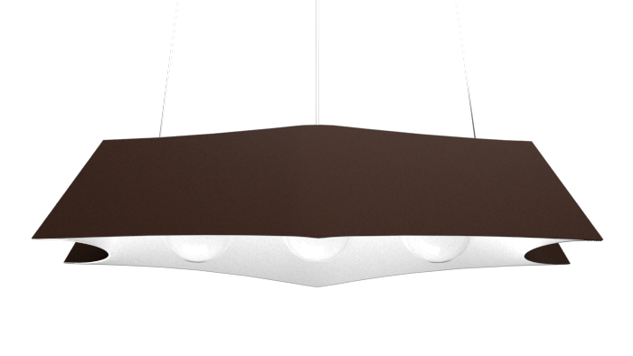 Pendant Lamp Arraia 1305 - OrgânicaLine Accord Lighting | 04. Tobacco