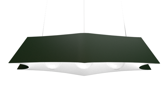 Pendant Lamp Arraia 1305 - OrgânicaLine Accord Lighting | 36. Emerald Green