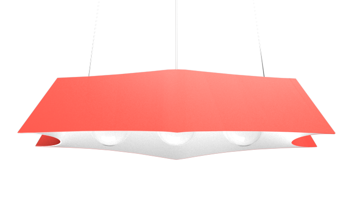 Pendant Lamp Arraia 1305 - OrgânicaLine Accord Lighting | 37. Coral