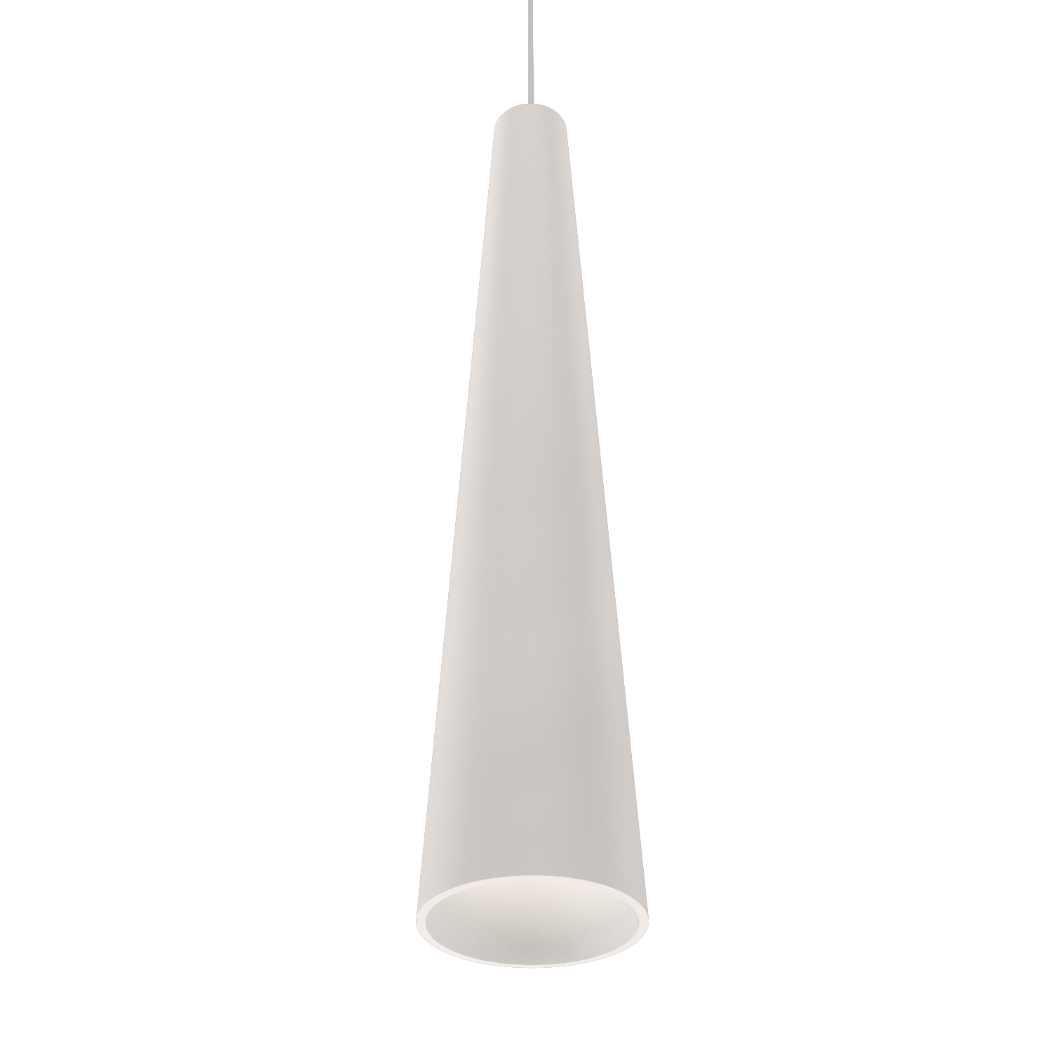 Pendant Lamp Accord Cônico 1276 - Cônica Line Accord Lighting | 25. Iredescent White