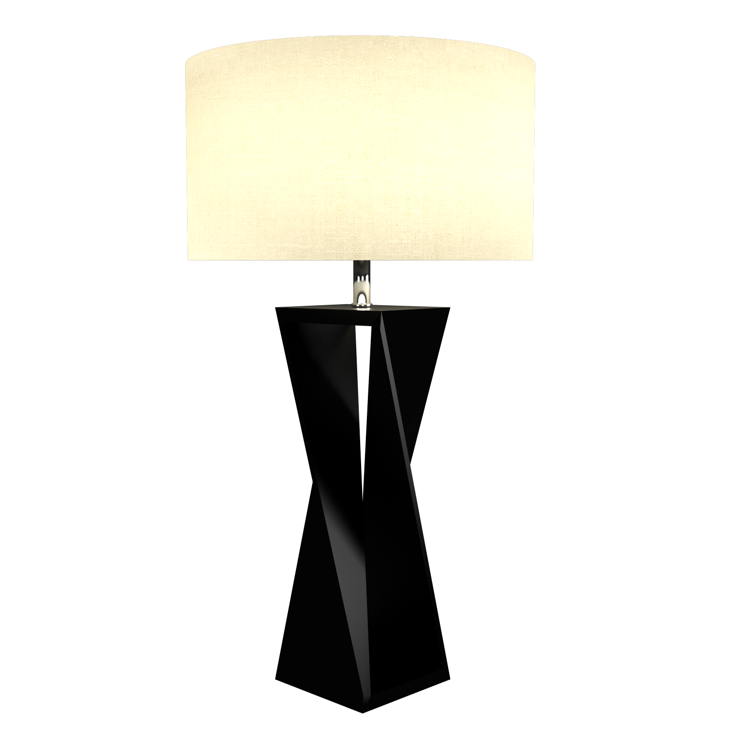 Table Lamp Accord Spin 7044 - Facetada Line Accord Lighting | 02. Matte Black