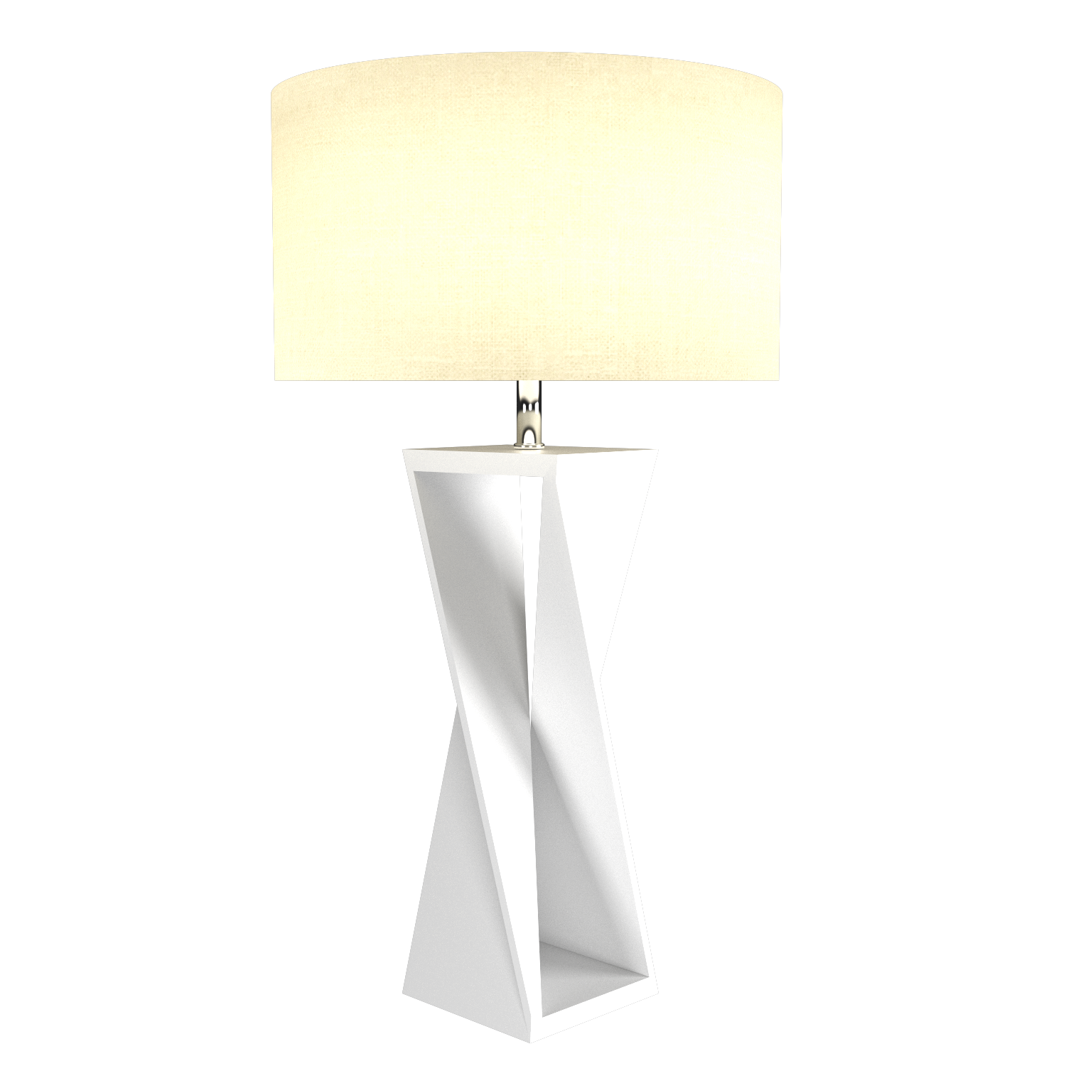 Table Lamp Accord Spin 7044 - Facetada Line Accord Lighting | 07. White