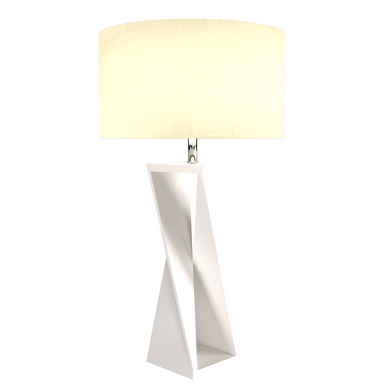 Table Lamp Accord Spin 7044 - Facetada Line Accord Lighting | 25. Iredescent White