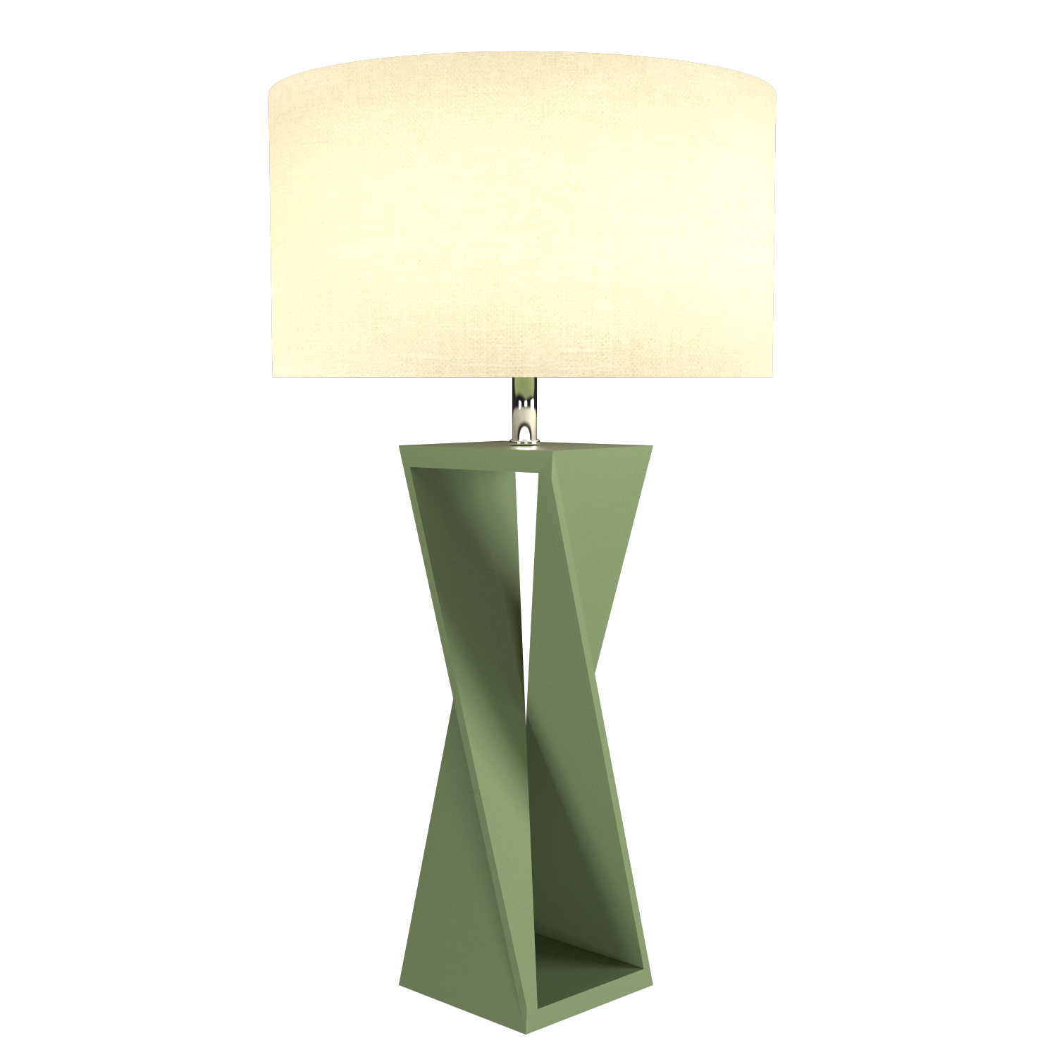 Table Lamp Accord Spin 7044 - Facetada Line Accord Lighting | 30. Olive Green