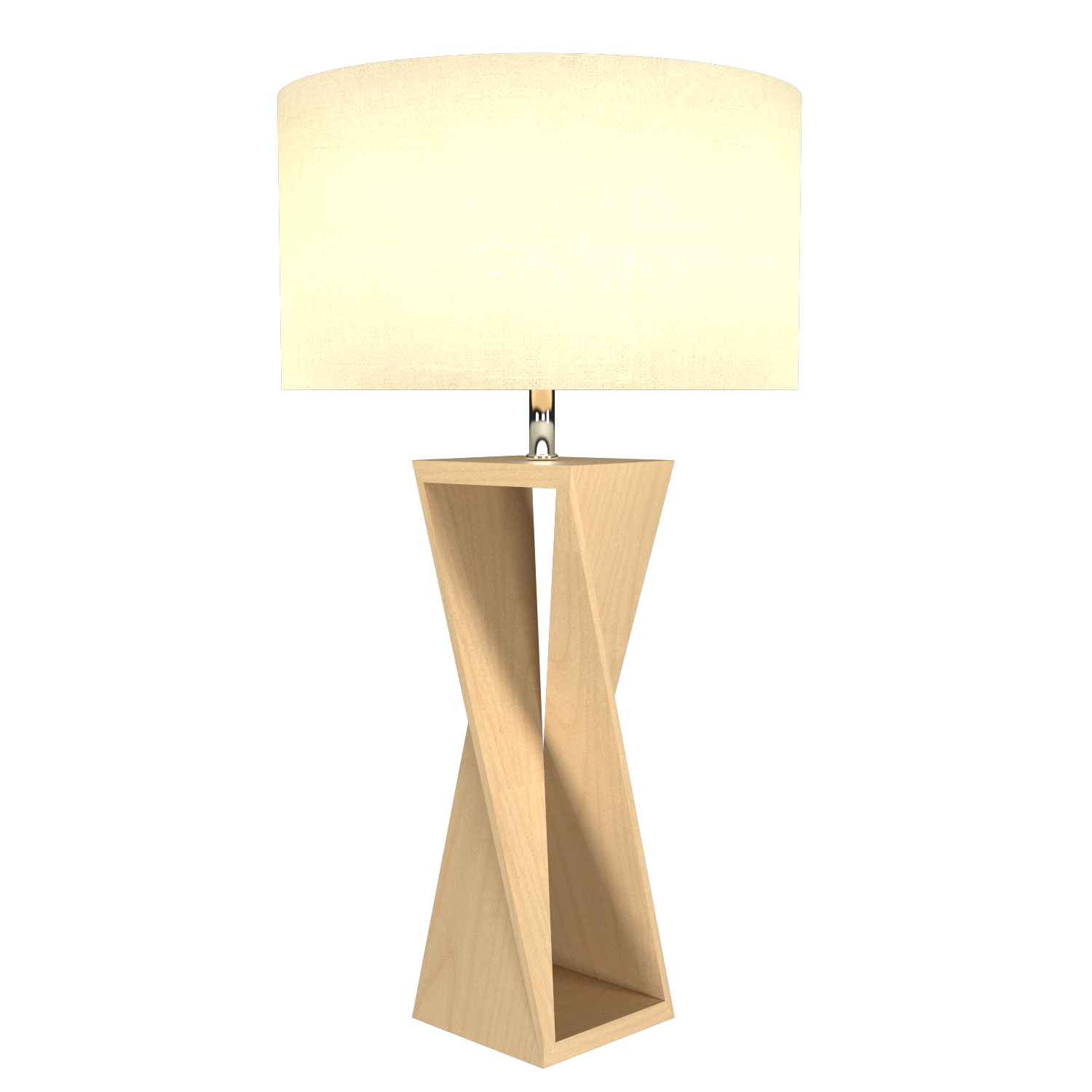 Table Lamp Accord Spin 7044 - Facetada Line Accord Lighting | 34. Maple