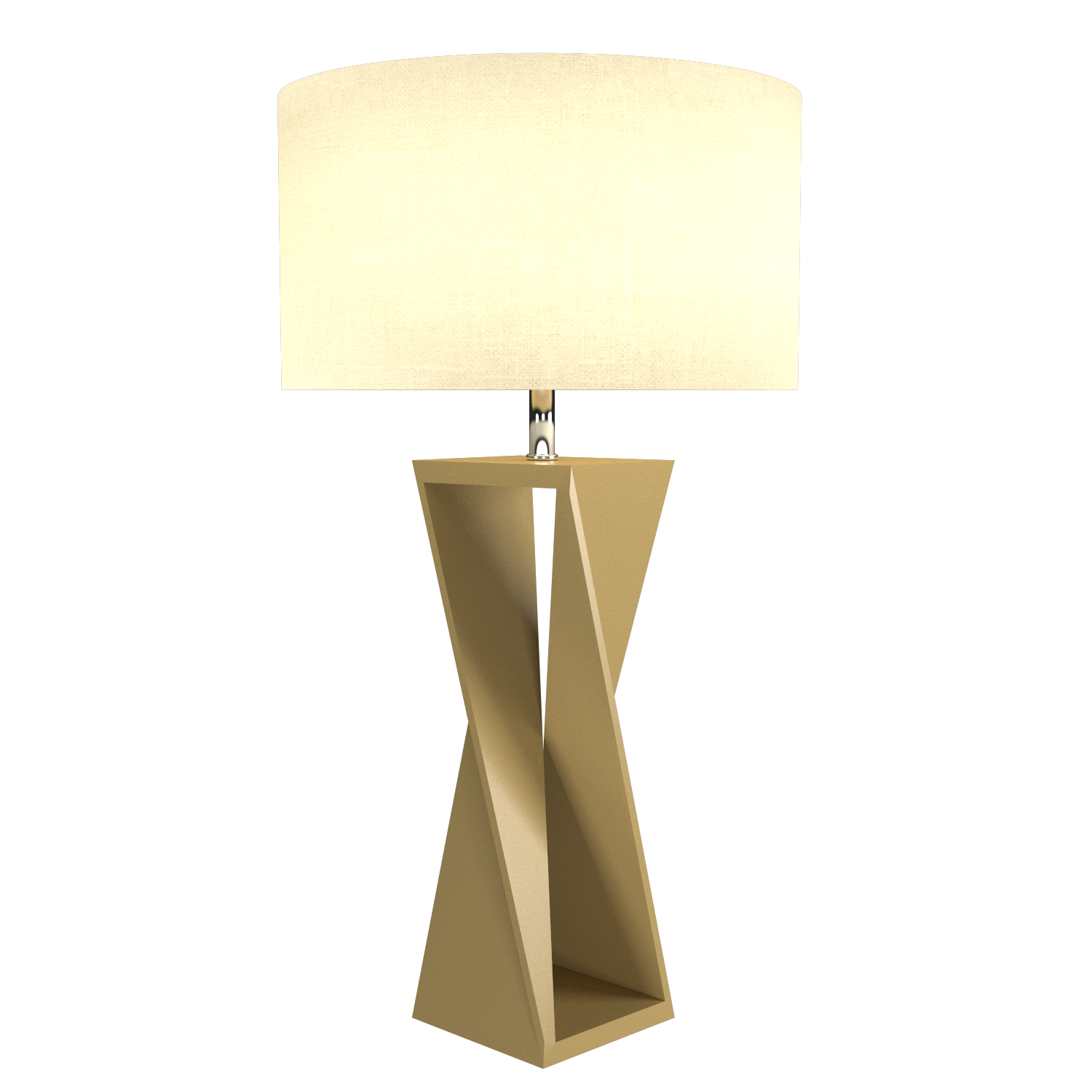 Table Lamp Accord Spin 7044 - Facetada Line Accord Lighting | Pale Gold