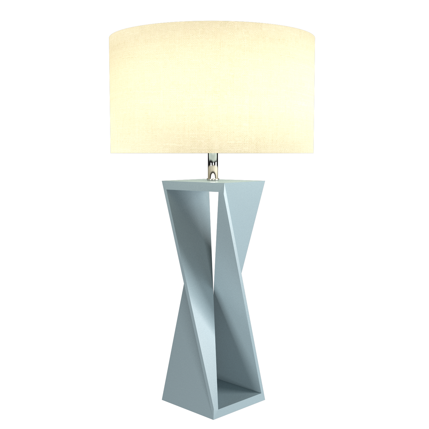 Table Lamp Accord Spin 7044 - Facetada Line Accord Lighting | Satin Blue
