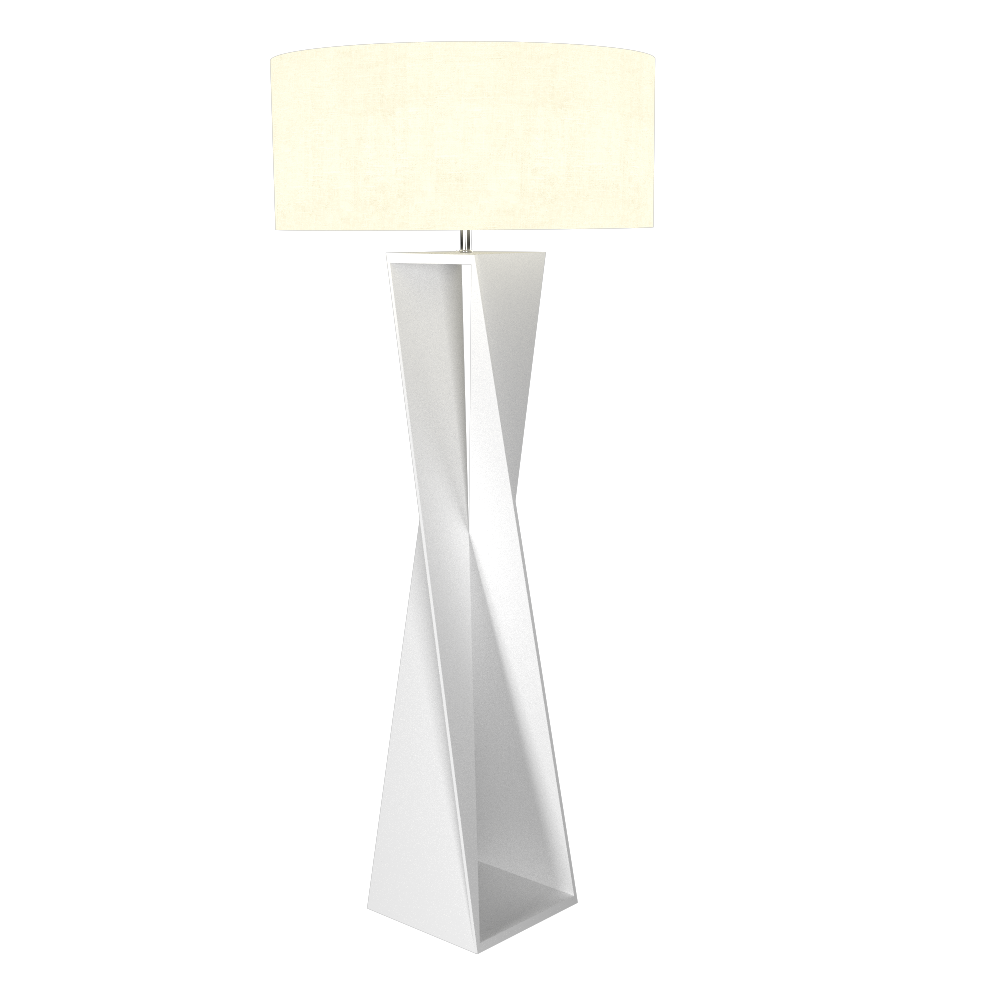 Floor Lamp Accord Spin 3029 - Facetada Line Accord Lighting | 07. White