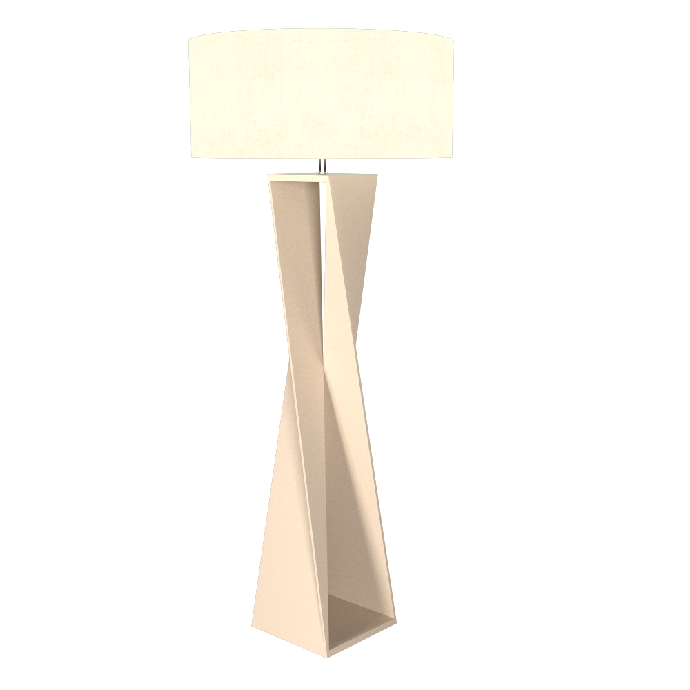 Floor Lamp Accord Spin 3029 - Facetada Line Accord Lighting | 15. Cappuccino