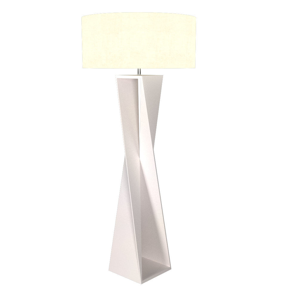Floor Lamp Accord Spin 3029 - Facetada Line Accord Lighting | 25. Iredescent White