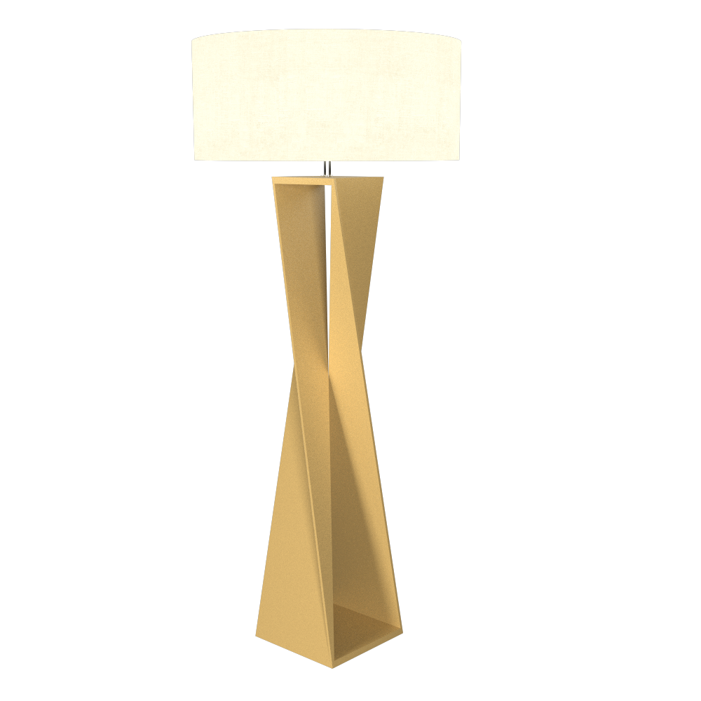 Floor Lamp Accord Spin 3029 - Facetada Line Accord Lighting | 27. Gold