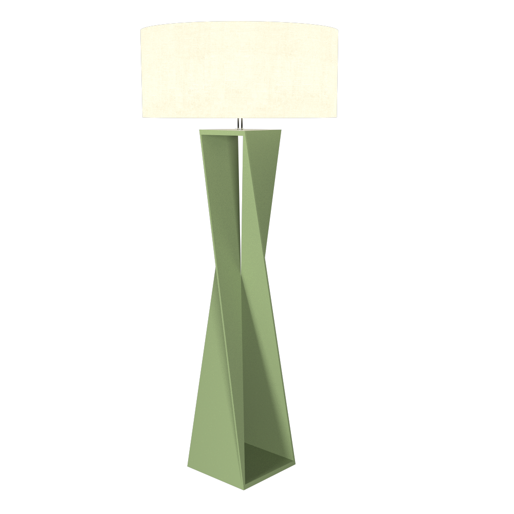 Floor Lamp Accord Spin 3029 - Facetada Line Accord Lighting | 30. Olive Green