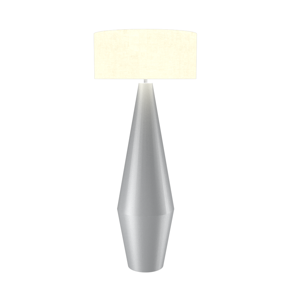 Floor Lamp Cone Duo 3031 - Cone DuoLine Accord Lighting | 28. Silver
