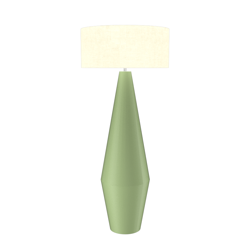 Floor Lamp Cone Duo 3031 - Cone DuoLine Accord Lighting | 30. Olive Green