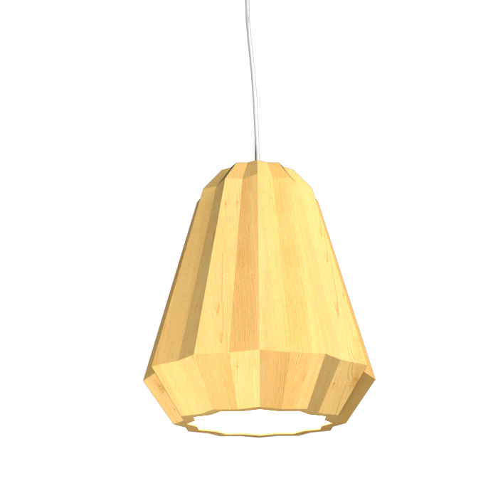 Pendant Lamp Plissé 1340 - PlisséLine Accord Lighting | 01. Pine