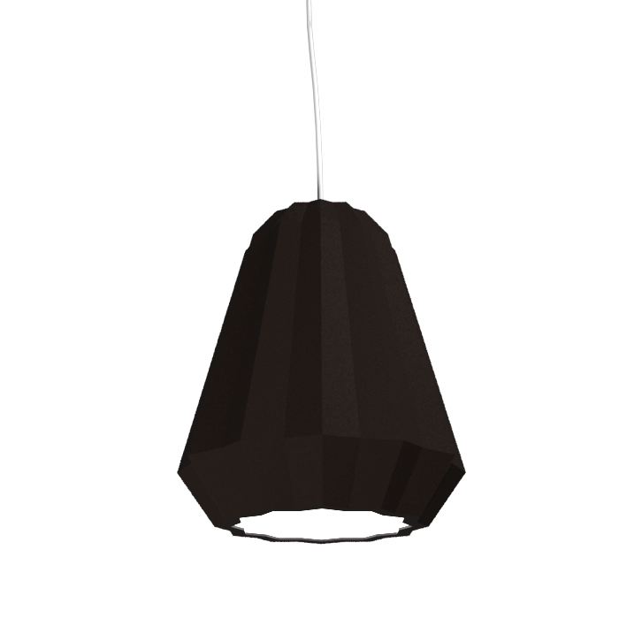 Pendant Lamp Plissé 1340 - PlisséLine Accord Lighting | 04. Tobacco