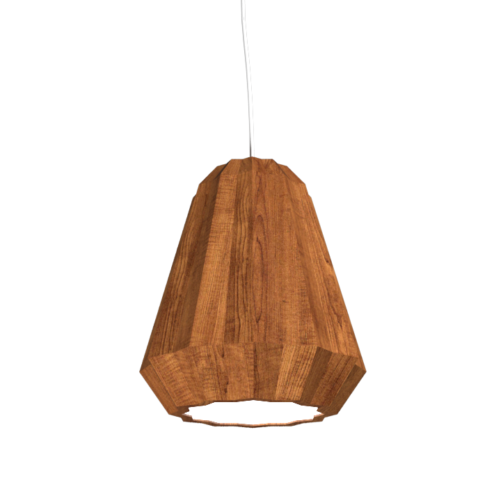 Pendant Lamp Plissé 1340 - PlisséLine Accord Lighting | 06. Imbuia