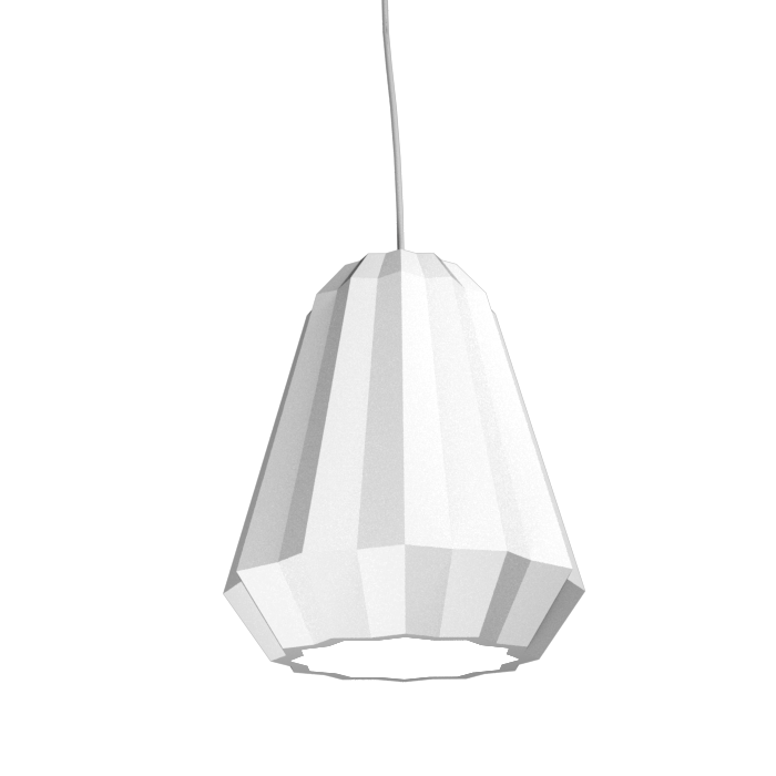 Pendant Lamp Plissé 1340 - PlisséLine Accord Lighting | 07. White