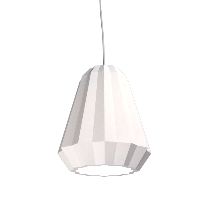 Pendant Lamp Plissé 1340 - PlisséLine Accord Lighting | 25. Iredescent White