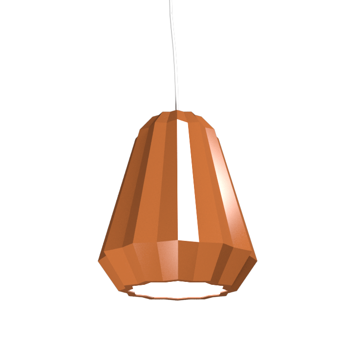 Pendant Lamp Plissé 1340 - PlisséLine Accord Lighting | 32. Copper