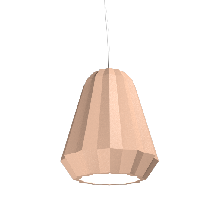 Pendant Lamp Plissé 1340 - PlisséLine Accord Lighting | 33. Bronze