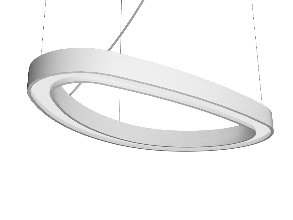 Pendant Lamp Accord Orgânico 1329 - Orgânica Line Accord Lighting | 07. White