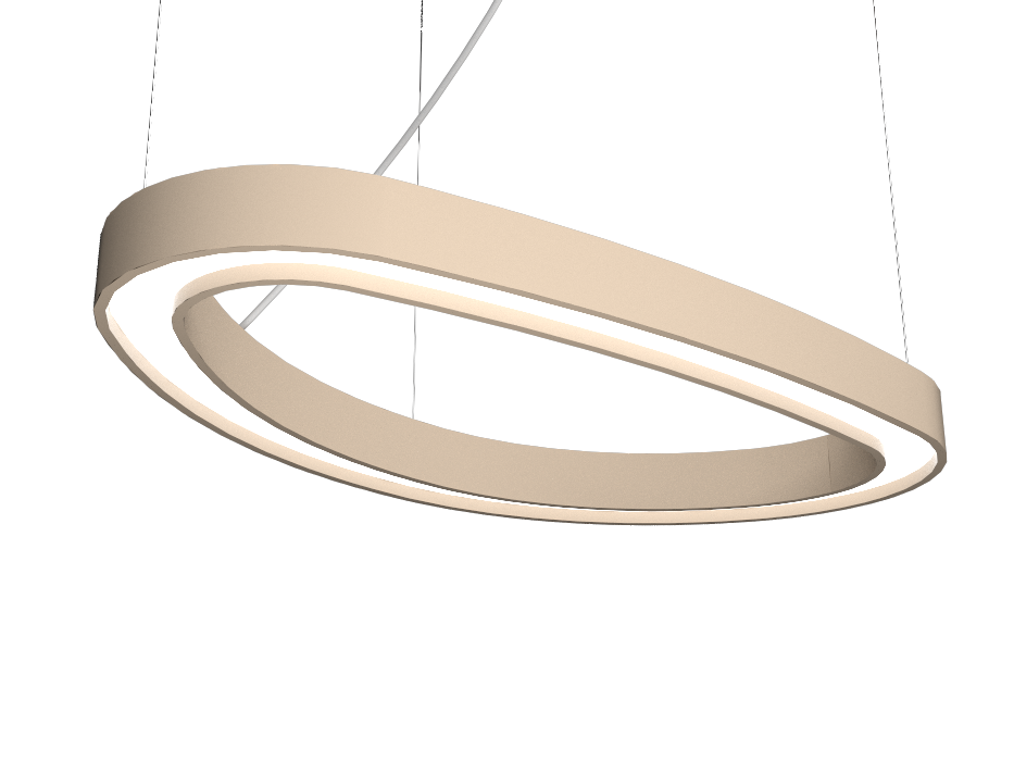 Pendant Lamp Accord Orgânico 1329 - Orgânica Line Accord Lighting | 15. Cappuccino