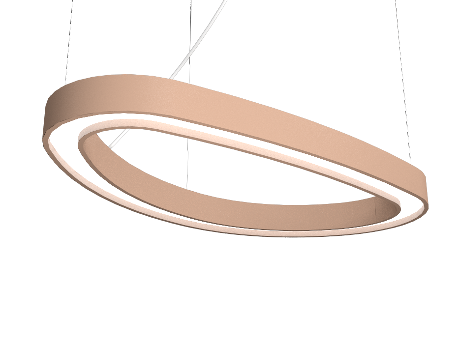 Pendant Lamp Accord Orgânico 1329 - Orgânica Line Accord Lighting | 33. Bronze