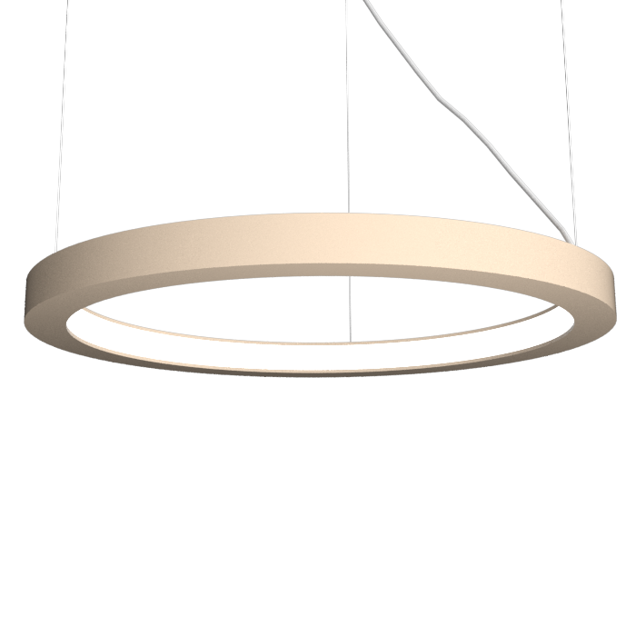 Pendant Lamp Accord Frame 1415 - Frame Line Accord Lighting | 15. Cappuccino