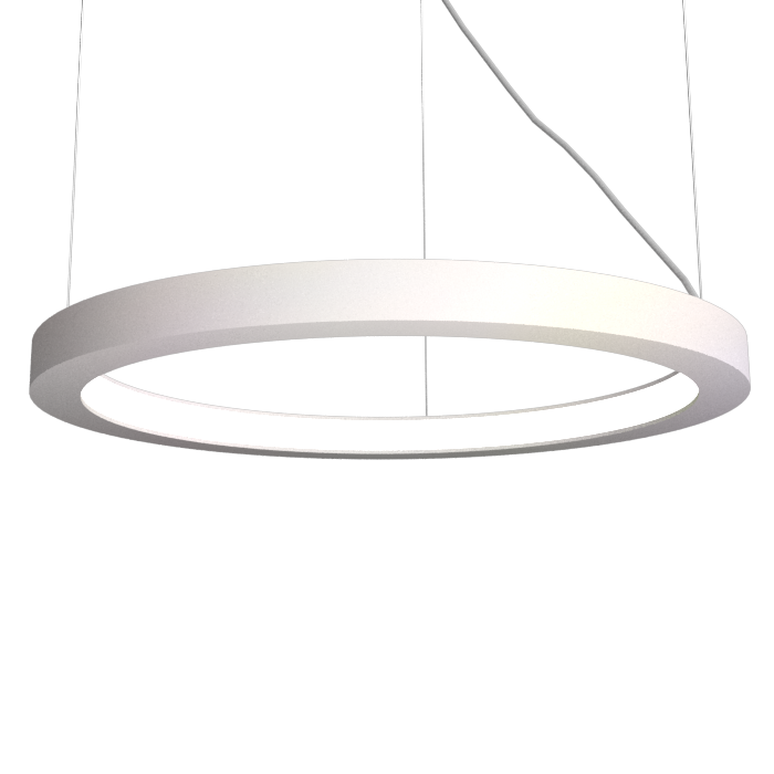 Pendant Lamp Accord Frame 1415 - Frame Line Accord Lighting | 25. Iredescent White