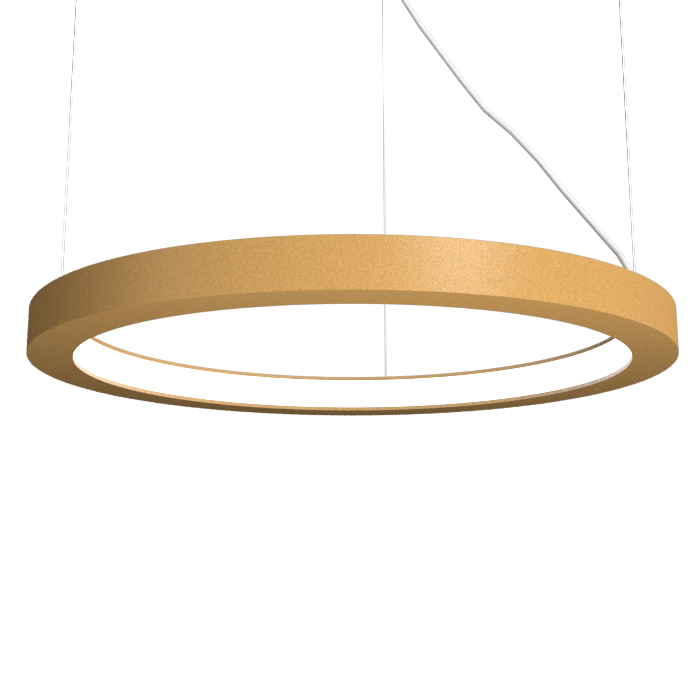 Pendant Lamp Accord Frame 1415 - Frame Line Accord Lighting | 27. Gold